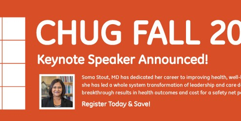 CHUG Fall 2018 Keynote Speaker Announced