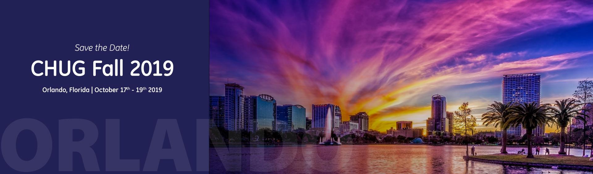CHUG Fall 2019 Orlando