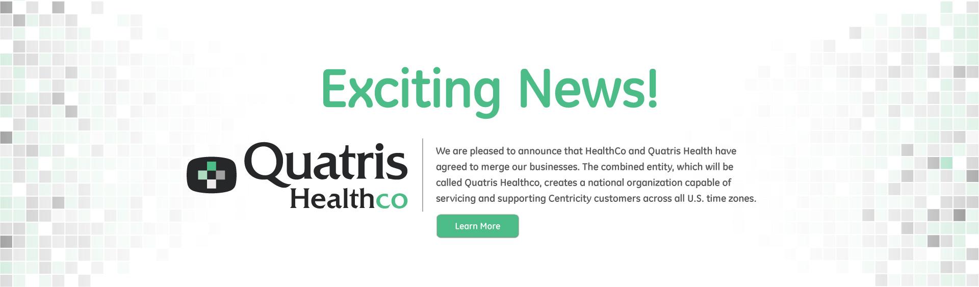 Healthco Quatris Merger