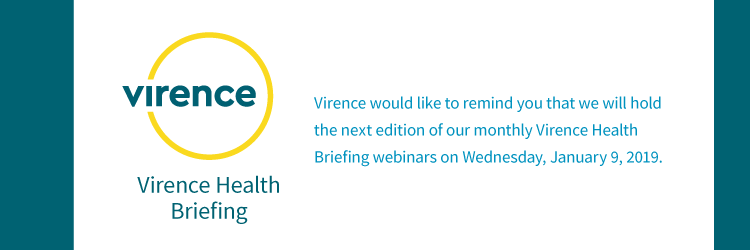 Virence Health Briefing on January 9, 2019