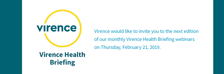 Virence Health Briefing Invitation